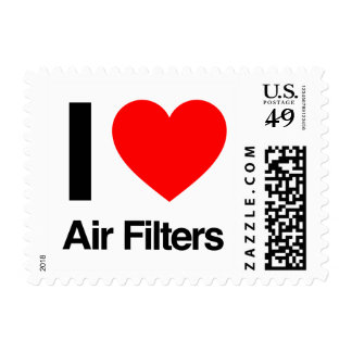 i love air filters stamp