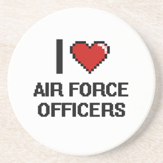 I love Air Force Officers Coaster