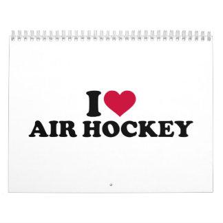 I love Air hockey Calendar