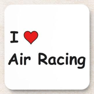 I Love Air Racing Beverage Coaster