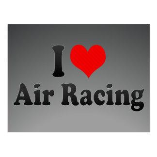 I love Air Racing Postcard