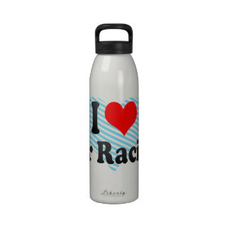 I love Air Racing Drinking Bottle