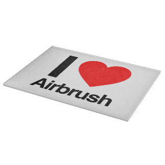 i love airbrush cutting boards