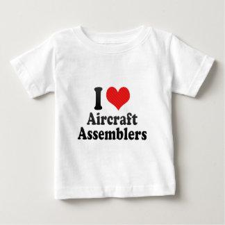 I Love Aircraft Assemblers T Shirt