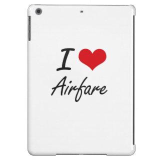 I Love Airfare Artistic Design Cover For iPad Air