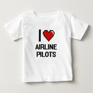 I love Airline Pilots T Shirt