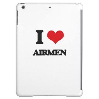 I love Airmen Case For iPad Air