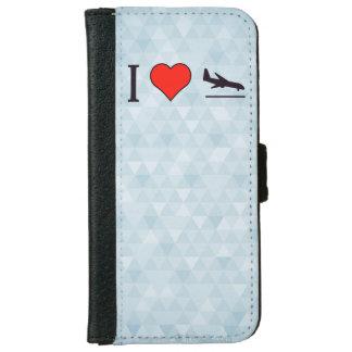 I Love Airplane Landings iPhone 6/6s Wallet Case
