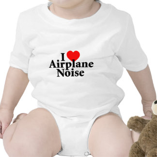 I Love Airplane Noise Shirt