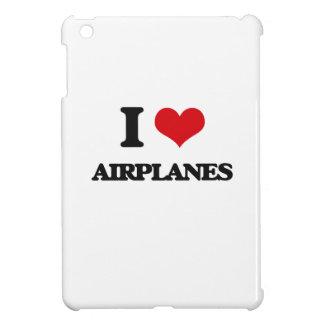 I Love Airplanes iPad Mini Cases