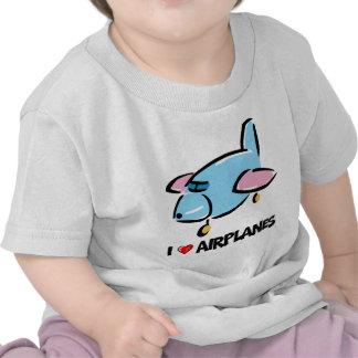 I Love Airplanes Tshirts