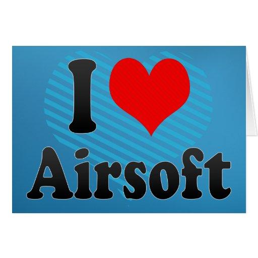 I love Airsoft Card