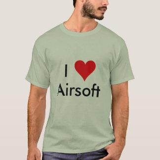 I Love Airsoft T-Shirt