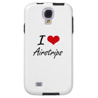 I Love Airstrips Artistic Design Galaxy S4 Case