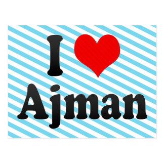 I Love Ajman, United Arab Emirates Postcard