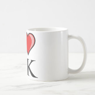 I Love AK - I Love Alaska Mug