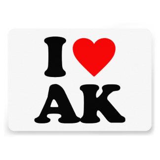 I LOVE AK CARD