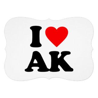 I LOVE AK CUSTOM INVITE