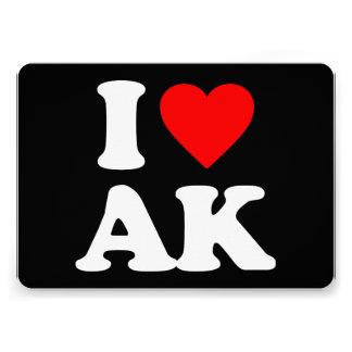 I LOVE AK CUSTOM ANNOUNCEMENT