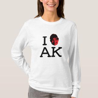 I Love AK - Palin - Ladies Long Sleeve T-Shirt