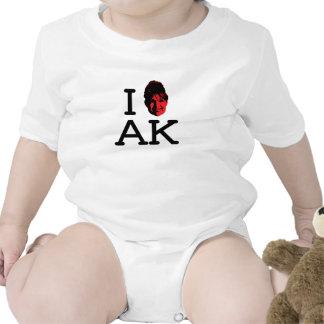 I Love AK - Palin - Rompers