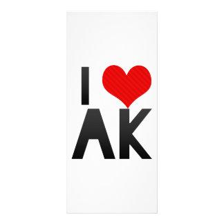 I Love AK Personalized Rack Card