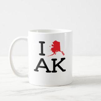 I Love AK - State - Mug