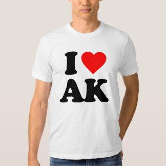 I LOVE AK T-SHIRTS