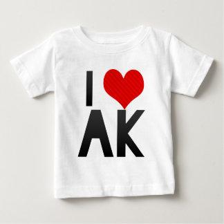 I Love AK T Shirts