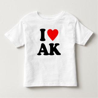 I LOVE AK TEE SHIRT