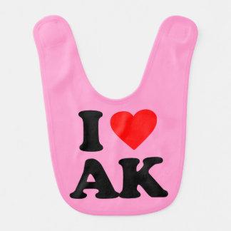 I LOVE AK BIB
