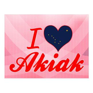 I Love Akiak, Alaska Post Cards