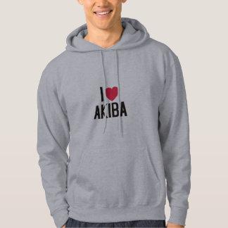 I love Akiba Hoodie
