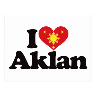 I Love Aklan Postcard