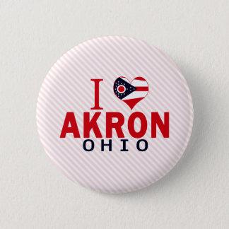 I love Akron, Ohio Button