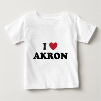 I Love Akron Ohio T Shirt