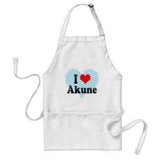 I Love Akune, Japan. Aisuru Akune, Japan Adult Apron