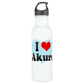 I Love Akure, Nigeria 24oz Water Bottle