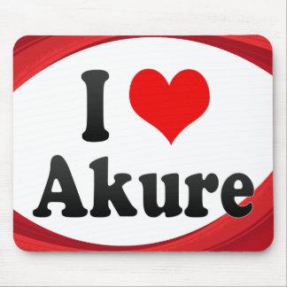 I Love Akure, Nigeria Mouse Pad