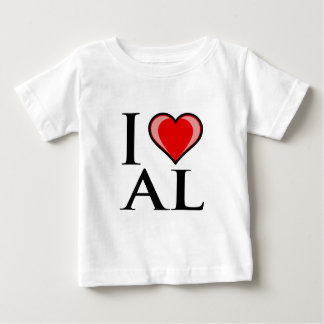 I Love AL - Alabama Baby T-Shirt