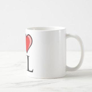 I Love AL - Alabama Coffee Mug