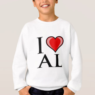 I Love AL - Alabama Sweatshirt