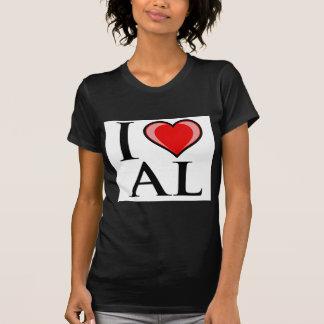 I Love AL - Alabama Shirt