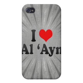 I Love Al 'Ayn, United Arab Emirates iPhone 4/4S Covers
