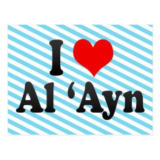 I Love Al 'Ayn, United Arab Emirates Postcard