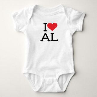 I Love AL - Baby Bodysuit