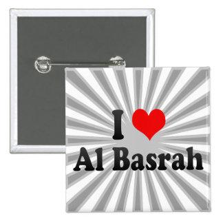 I Love Al Basrah, Iraq Button