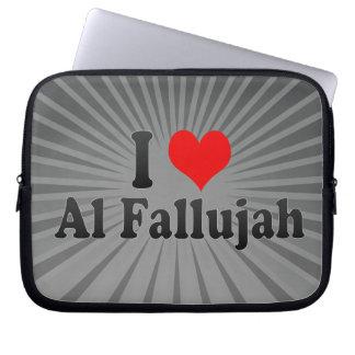 I Love Al Fallujah Iraq Laptop Sleeve