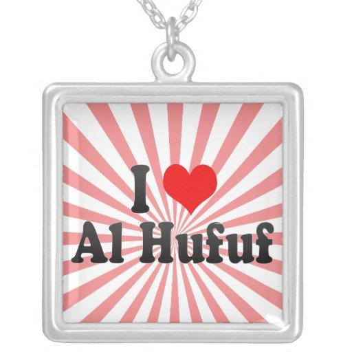 I Love Al Hufuf, Saudi Arabia Pendants