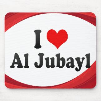 I Love Al Jubayl, Saudi Arabia Mouse Pad